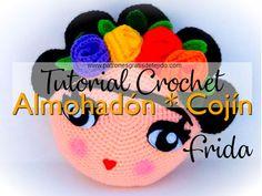 Crochet Crafts, Crochet Dolls, Crochet Projects, Knit Crochet, Crochet Coin Purse, Memory Crafts, Crochet Pillow, Tiny Treasures, Crochet Accessories
