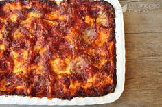-Lasagne napoletane