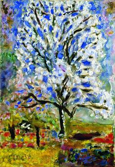 L'Amandier en fleurs, 1946-1947, Paris, musée d'Orsay- ultime tableau peint par Bonnard Plus