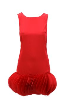 fun red dress from asos