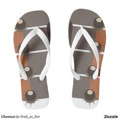 Chestnut Flip Flops