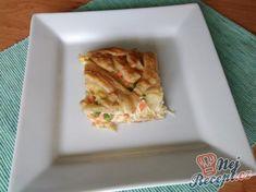 Zeleninový koláč z listového těsta   NejRecept.cz French Toast, Breakfast, Food, Morning Coffee, Essen, Meals, Yemek, Eten