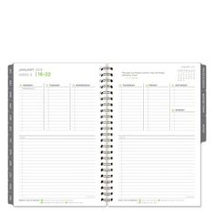 Classic 5 Choices Wire-bound Weekly Planner - Jan 2014 - Dec 2014