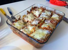 Lazy Man's Cabbage Roll Casserole