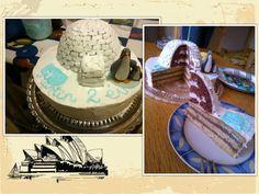 chocolate-vanille cream cake