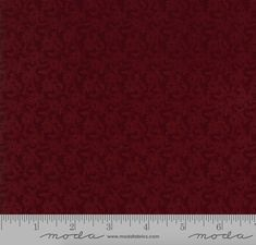 """13 Yards in Stock - Moda Fabrics - 108"""" Wide Fresh Cut Flowers Red Quilt Back / Backing Fabric by Kansas Troubles - 11140-13"""