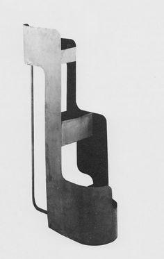 Jean Burkhalter, plant stand ca aqqindex Bauhaus, Pierre Chareau, The Old Curiosity Shop, Vintage Furniture Design, Modernisme, Clever Design, Mid Century Modern Design, Retro Design, Modern Minimalist