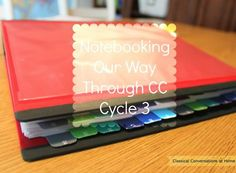 List of printables we're using - Notebooking our Way Through CC Cycle 3