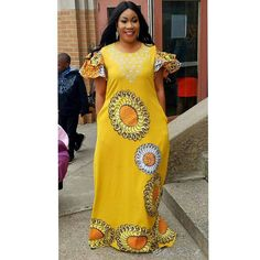 Latest Ankara Dress Styles - Loud In Naija Latest Ankara Dresses, Ankara Dress Styles, African Maxi Dresses, Latest African Fashion Dresses, African Inspired Fashion, African Dresses For Women, Africa Fashion, African Attire, African Wear