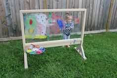 Inspiring Creativity While Painting on Our Plexiglass Easel