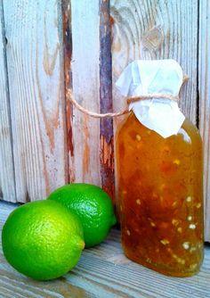Zielony sos chilli z limonką