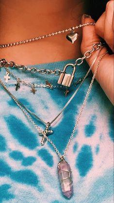 Grunge Accessories, Grunge Jewelry, Jewelry Accessories, Fashion Accessories, Fashion Jewelry, Fashion Earrings, Ear Jewelry, Cute Jewelry, Jewlery