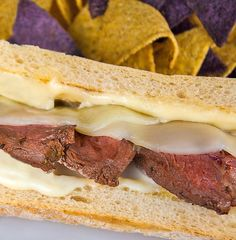 Cheesy Grilled Steak Sandwich  The Perfect Tailgating Steak Sandwich (Gluten-Free)