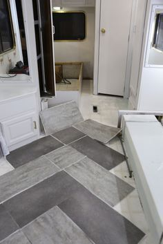 Trailer Remodel With Peel-and-Stick Vinyl Flooring