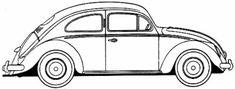 beetle car | Vw Bug Drawing vw beetle outline drawing sketch coloring page