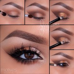 "1.Start by applying ""Birch"" brow bone! _________________________________"