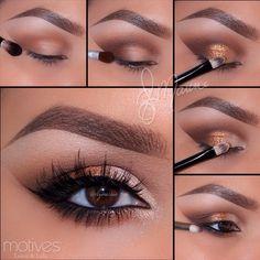 """1.Start by applying """"Birch"""" brow bone! _________________________________"""