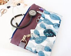 Stethoscope Bag. Vet Tech Gift.Nurse Bag. EMT Gift. Bsn