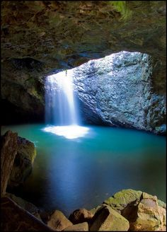 The Natural Bridge - Springbrook Park, Australia