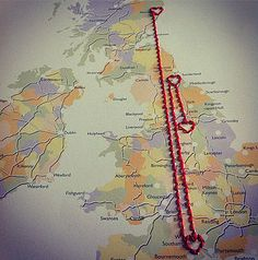 Saphy makes a Personalised Stitch in   Journey Map