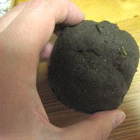 Simple instructions for making a moss ball, NOT on a string. On a plate or  flat dish. Does NOT wrap roots in sphagnum