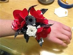 Duck Tape corsage!