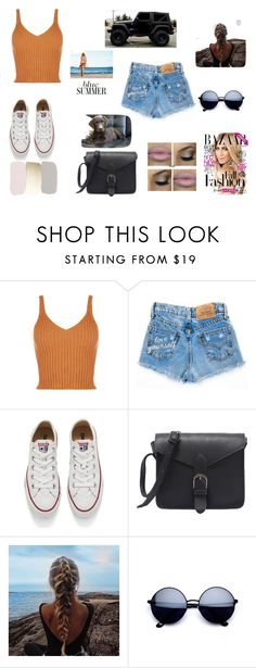 """""""casual"""" by hageranne on Polyvore featuring Converse and Wrangler"""