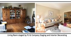Staging your home prior to selling can make a big difference in how much your home sells for and how long it takes to sell. This article will show you examples of what a difference it can make. Colorado Real Estate, Nc Real Estate, Home Hacks, Home Staging, Estate Homes, Home Buying, Interior Decorating, House Design, Photos