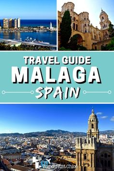Malaga, Spain: Travel guide to the top things to do. Malaga on Spain's Costa Del Sol is a buzzing city with more history, culture and great food than many cities put together. Find out the top things to do on your first visit. Europe Destinations, Europe Travel Tips, Spain Travel, Andalusia Travel, Croatia Travel, European Travel, Holiday Destinations, Italy Travel, Travel Guides