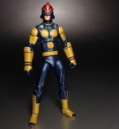Kid Nova (Marvel Universe) Custom Action Figure