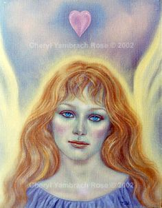 Cheryl Yambrach Rose-Hall | Contemporary Icons | Angel of Compassion (1995)