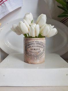 Antique marmalade jar or pot. James Keller & Sons, Dundee by EmmaAtLHV on Etsy