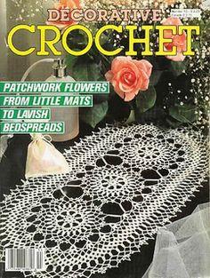 Ravelry: Decorative Crochet Magazine, January 1990, #13