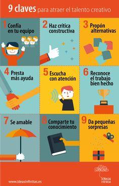 9 claves para atraer el talento creativo