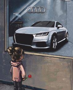 583 Likes, 0 Comments - Klaudia Audi Tt S, Audi Rs5, Audi R8 Wallpaper, Princess Car, Sports Cars Lamborghini, Black Audi, Lux Cars, Car Mods, Dreams