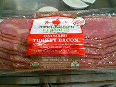 Applegate Organics Uncured Turkey Bacon | Feeding Dee