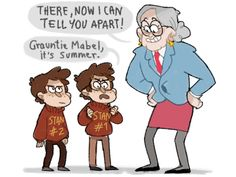 gravity falls Au's - Google Search