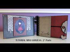 Tutorial mini Gorjuss. 2ª parte. - YouTube Lovely Tutorials, Diy Crafts For Girls, Baby Album, Mini Scrapbook Albums, Free Design, Design Ideas, Paper Houses, Shaker Cards, American Crafts
