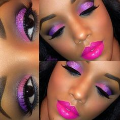 ♥ Omg I love the bright colors! Wish I could pull this off