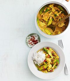 Chicken-and-Okra Curry