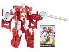 Boneco Transformers Generations - Combiner Wars Scattershot com Acessórios Hasbro