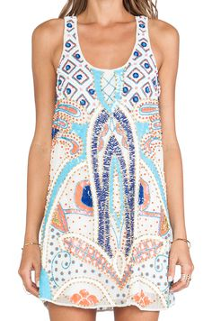 Parker Woodley Sequin Dress in Multi