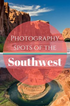 Best photo spots of Southwest America | Tracie Travels - A collection of the best places for photography in the American Southwest. Canyons, red rock, wide open landscapes, and more photos to come with each visit to the Southwest!  https://tracietravels.com/2017/09/the-best-places-for-photography-in-the-american-southwest/