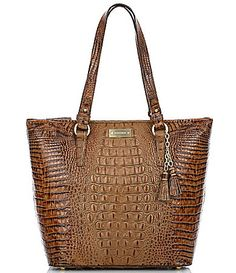 Brahmin Toasted Almond Collection Asher Tote