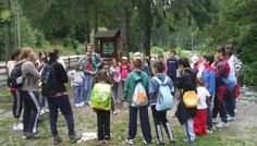 Micii cercetaşi în tabără la Moeciu