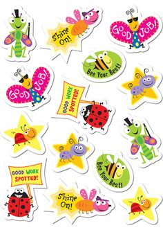 Stickers by Creative Teaching Press Classroom Rewards, Primary Classroom, Preschool Classroom, Classroom Decor, Classroom Resources, Teacher Stickers, Reward Stickers, Printable Stickers, Free Printable