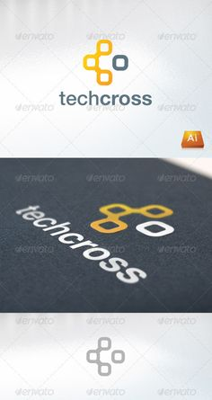 Techcross — Vector EPS #computer #cross • Available here → https://graphicriver.net/item/techcross-/712343?ref=pxcr