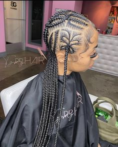 Black Girl Braids, Girls Braids, Lil Girl Hairstyles, Braided Hairstyles, Hot Hair Styles, Natural Hair Styles, Cornrows, Box Braids, Dreads