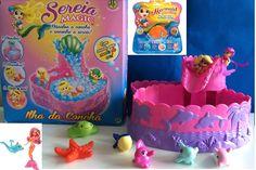 Sereia Magic - Brinquedo Surpresa com ilha aquática - Concha Sereia Magic - Mermaid Magic - DTC https://www.youtube.com/watch?v=d_DePnMBnAQ