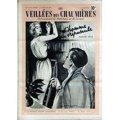 Veillees (Les) N° 21 Du 12/01/1952 - Lectures Romanesques - Tricots- Ouvrages - Enquetes - Cuisine L'homme Du Crepuscule De Claude Vela.